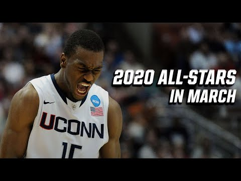 2020 NBA All-Stars And Their March Madness Days
