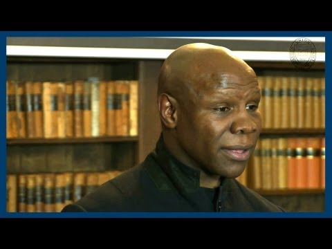 Michael Watson Fight | Chris Eubank | Oxford Union