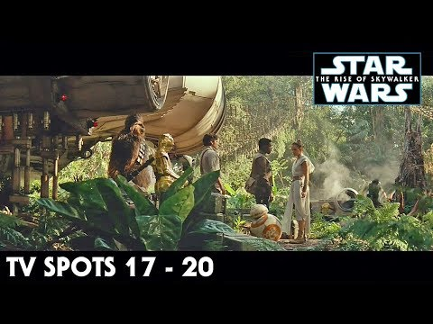 Star Wars The Rise of Skywalker TV Spot Trailers 17 - 20