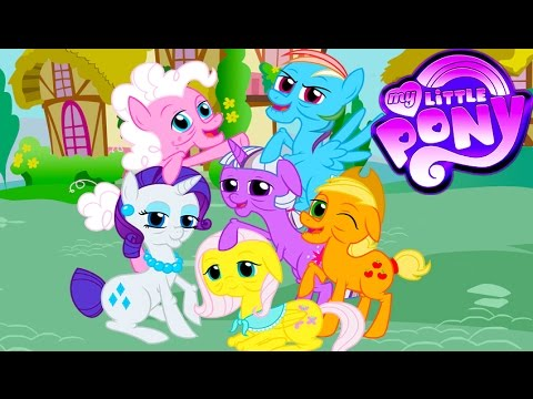 My Little Pony Become Old Coloring Book Transforms Mane 6 - MLP Coloring  Videos For Kids - YouTube