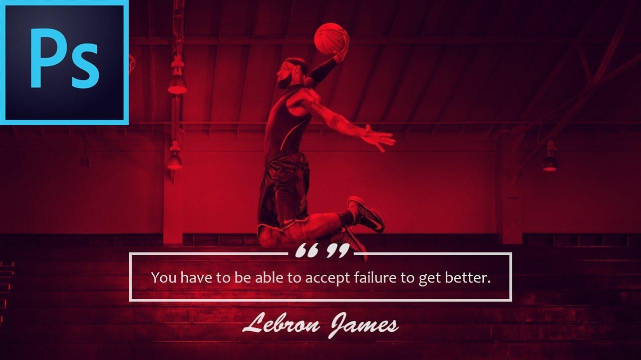 NBA Quote Wallpaper Effect