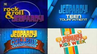 Rock and Roll Jeopardy Think Music (College/Kids/Teen/Anything Hip related Jeopardy too)