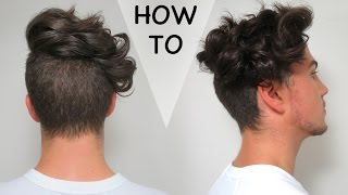 How To Curl Your Hair (with a GHD) - Men