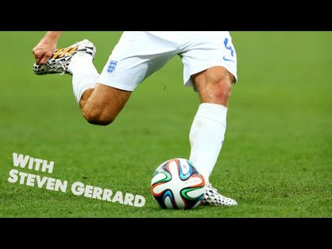 Learn to play like Steven Gerrard - Football Soccer tutorials