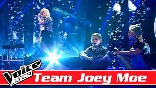 Natasja, Victor & Samiah (Team Joey Moe) synger: Alex feat. Nik & Jay - 'Hvad nu hvis'