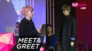 MONSTA X's Visual Team Kihyun and Hyungwon Play Charades [MEET&GREET]