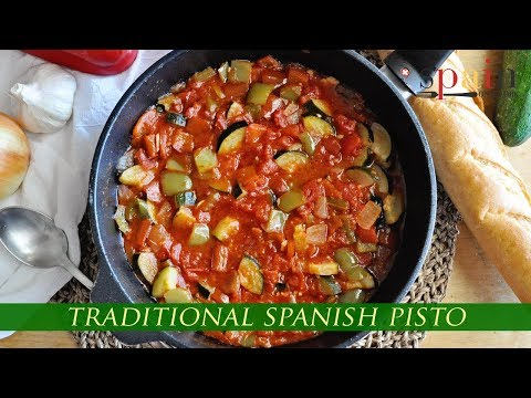 The BEST RATATOUILLE EVER: Making a Traditional Spanish Pisto