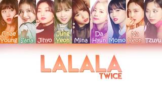 "Twice  트와이스  - ""lalala"" | Color Coded Lyrics  Kor/rom/pt-br"