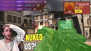 I've never seen hacks THIS BAD in COD Mobile (He nuked me!)