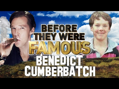 BENEDICT CUMBERBATCH - Before They Were Famous - SHERLOCK