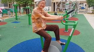 Health Message - Stationary cycling helps to prevent knee pain