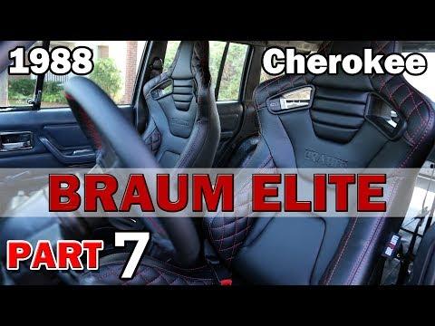 Braum Seats | Jeep XJ Cherokee Restoration | Part 7
