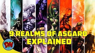 9 Realms of Asgard | Explained in Hindi