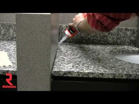 Richelieu Hardware - How to properly apply sealant