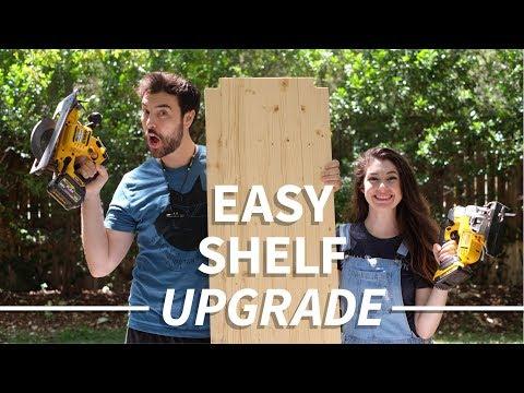 Upgrade a Wire Shelf in Under an Hour