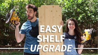 Upgrade a Wire Shelf in Under an Hour