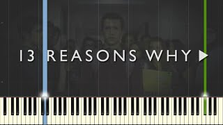 13 Reasons Why - The Night We Met - Lord Huron [Piano Tutorial] (Synthesia)