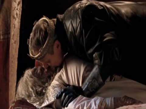Merlin 2x06 - Uther and Lady Catrina/Troll Love Moment