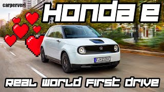 Honda e: the EV that electric car haters love // Jonny Smith