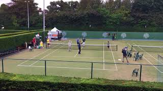 Highlights of the  60 hour world record doubles tennis attempt 1