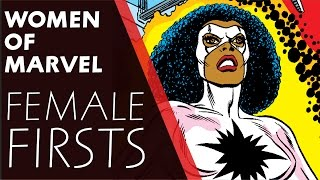 Women of Marvel: Female Firsts