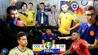 Colombia 0 (4) Chile 0 (5)   Copa América Brasil 2019   Reacciones Amigos   Club de la Ironía