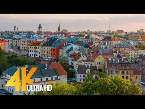 4K Lublin, Poland - Cities of the World | Urban Life Documentary Film