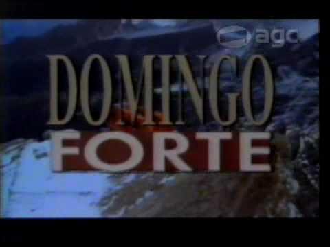 Chamada Estreia Domingo Forte na Rede Manchete - 1993