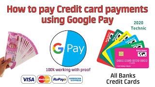 How to pay credit card bills using Google Pay (Tej App)100% percentage | Teqnar Telugu