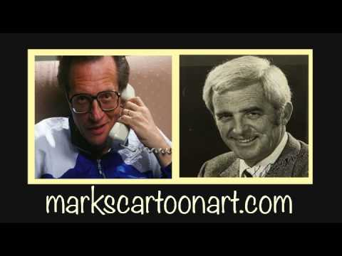 CARTOONIST HANK KETCHAM ON THE LARRY KING RADIO SHOW