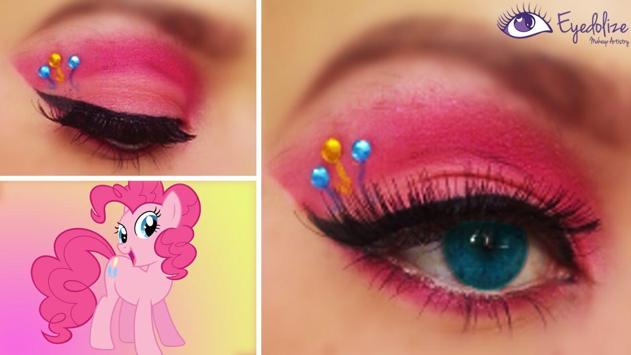Pinkie Pie My Little Pony Eyeshadow By Eyedolizemakeup
