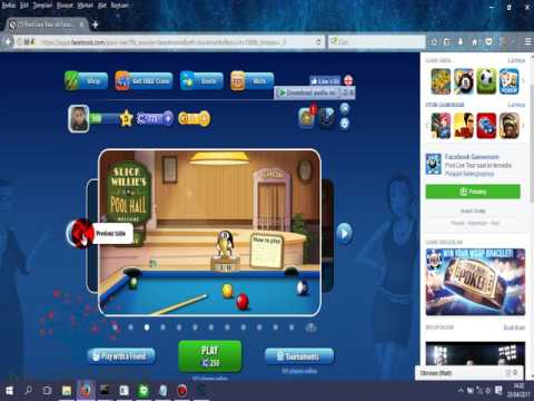 Cheat Pool Live Tour Cheat Cue + Speed + Time + Table +Aim 2017 Work!!!!