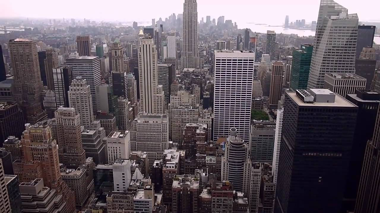New York City Skyline Hd Manhattan Views From Top Of The Rock The