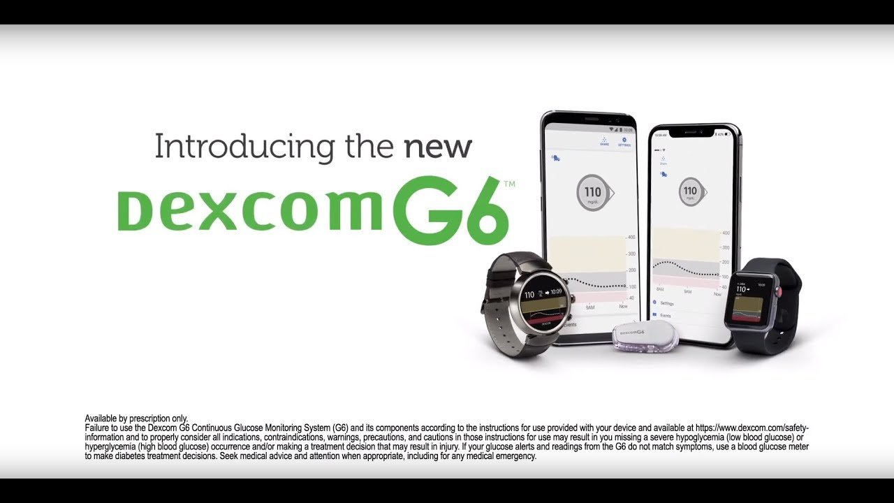 Introducing The Dexcom G6 Cgm System Coming Soon Youtube
