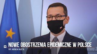 Koronawirus w Polsce. Morawiecki ogłosił nowe obostrzenia. Potężne zmiany w życiu społecznym