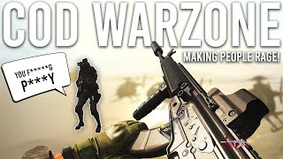 Call of Duty Warzone - Making people RAGE!