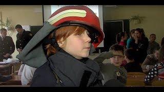 Пожарные Латгальской региональной бригады провели в школах специальные уроки