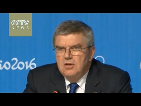 IOC President describes Rio Olympic Games as 'iconic'