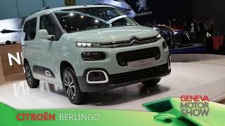 Citroën Berlingo en direct du salon de Genève 2018