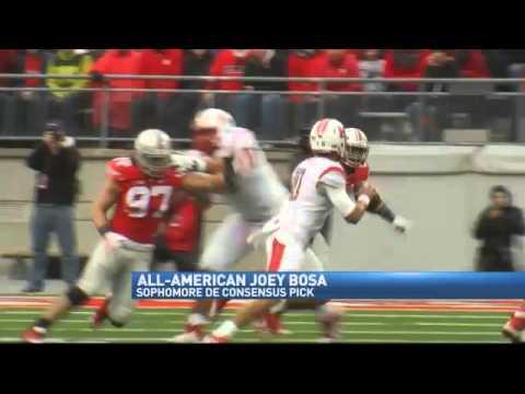 Ohio State DE Bosa Consensus All-American