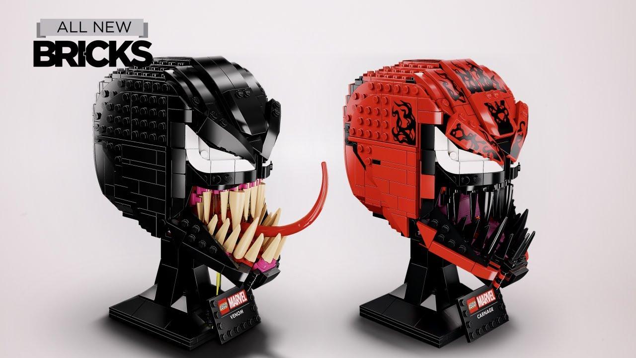 Lego Marvel 76187 Venom and 76199 Carnage Speed Build Compilation