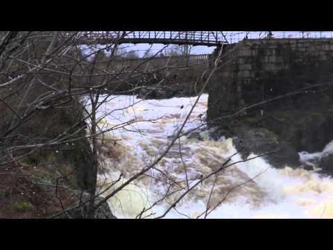 River in Machias Maine