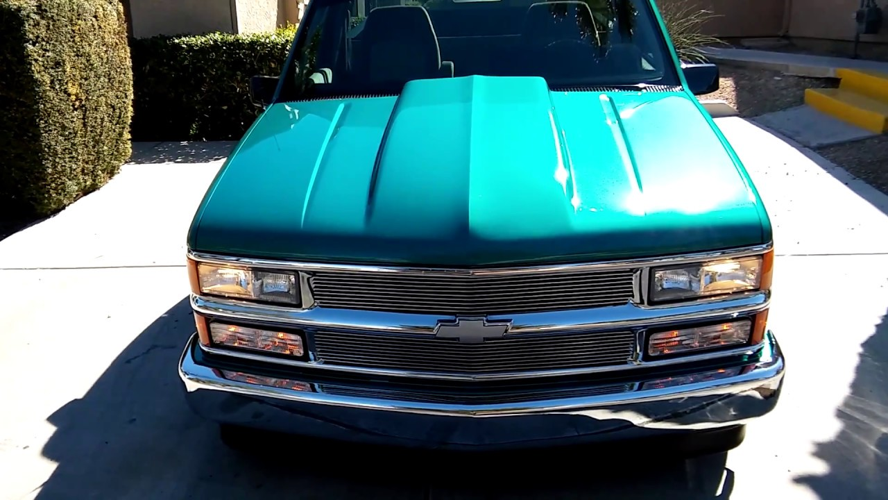 medium resolution of 1994 chevrolet silverado c1500 with a 4 6 lowering kit