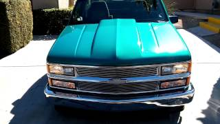 1994 Chevrolet Silverado (C1500) With A 4/6 Lowering Kit