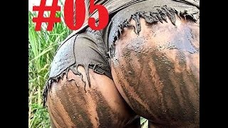 Mad Girls swimming in mud #5
