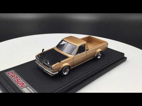 Ignition Model 1:43 Nissan Hakotora truck (IG1511) resin car model (SH-Wheel) Gold
