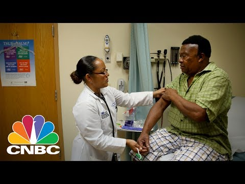 Trader Explains Why Healthcare Is Both 'Offense And Defense' | Trading Nation | CNBC