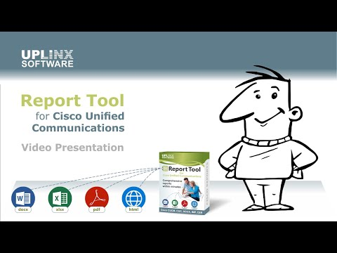 Report Tool for Cisco Unified Communications – Uplinx Software