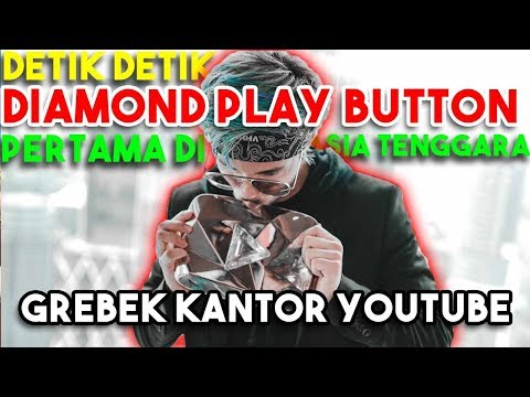 ATTA DIAMOND PLAY BUTTON Pertama Di ASIA TENGGARA! 11 M SUBS! + GREBEK KANTOR YOUTUBE