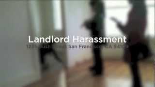 Landlord Harassment